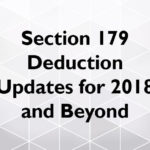 Section 179 Depreciation Updates for 2018