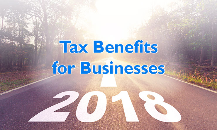 2018 Tax Benefits for Businesses