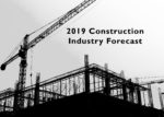 A look at Forecasts and Trends for the 2019 Construction Industry