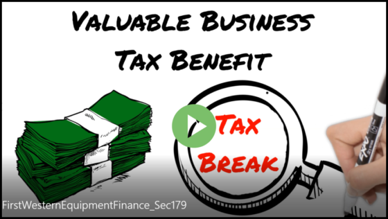Section 179 Tax Benefits